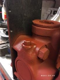 Repaired drain plug
