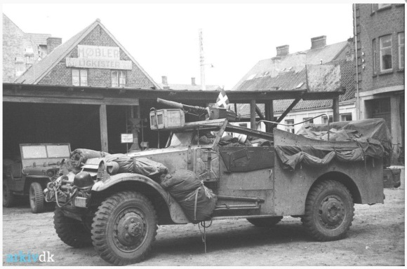 British M3A1 Scout Car