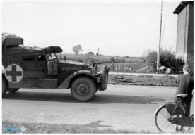 British M3A1 Scout Car Ambulance