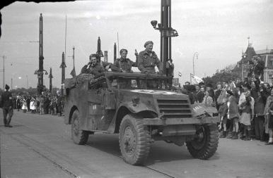British M3A1 Scout Car